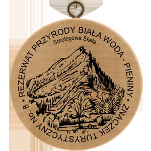 Obrázek č. 1, Znaczki Turystyczne, No. 8 Rezerwat przyrody Biała Woda - Pieniny